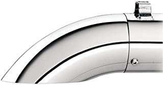 Kerker Slip-Ons and Systems/SE Series Chrome End Caps - Turn Down/Out - Turn Down/Out