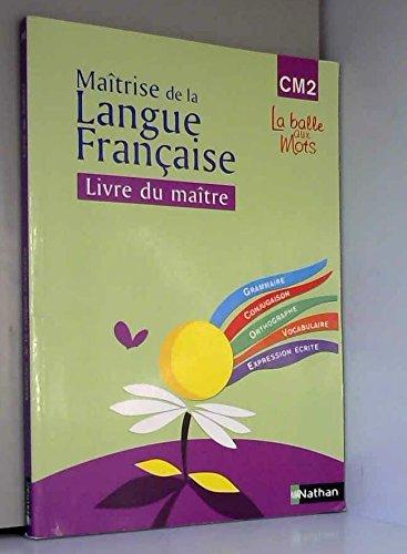 Observation Réflechie de la Langue Française CM2