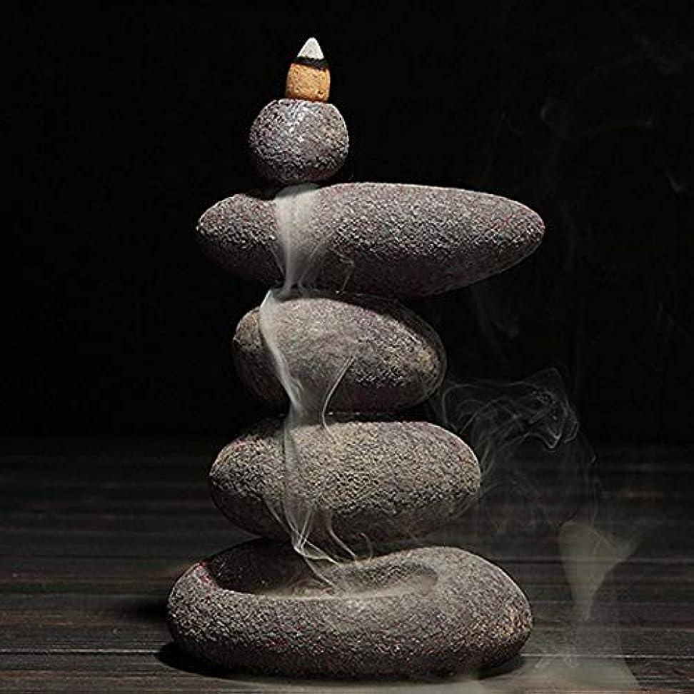 置き場好奇心風刺お香 20個入り セラミック 香炉 逆流香 装飾レトロ 禅 仏教 アロマ リラクゼーション