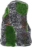 TBNB Decoración de Acuario Terraza de Tortuga de Acuario, Acuario de Resina Simulación Artificial Tortugas Escalada Plataforma de Musgo Ocultar Cueva Paisaje para pecera