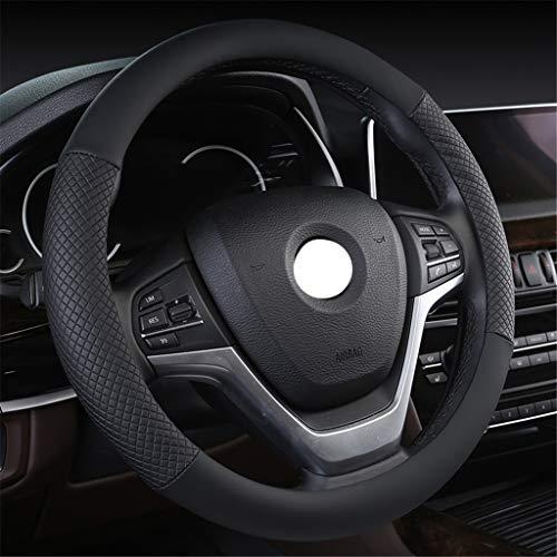 Couverture de volant de voiture Couvre volant - Diamètre universel 36-38cm Mode Couvre volant Impression anti-dérapante respirante Porter une housse décorative (5 styles au choix)