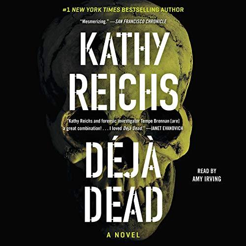 Deja Dead audiobook cover art