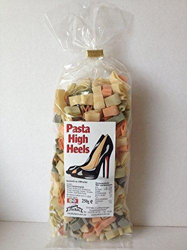 Nudeln High Heels Damen Schuhe Pasta 250g