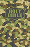 NKJV, Camouflage Bible, Flexcover, Green