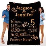 Stylish Gears Best Gift for Anniversary, Customized Fleece Blanket for Your Love Partner with Beautiful Quotes, Blanket for Couples, Valentine, Birthday, Soft and Cozy Blanket