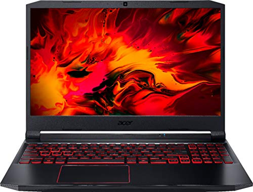 Acer - Nitro 5 15.6' Laptop - AMD Ryzen 5 - 8GB Memory - NVIDIA GeForce GTX 1650 - 256GB SSD - Obsidian Black