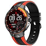 Utry Smart Watch,Full Touch Screen with 24 Sports Modes Smart Watches for Men Women,Heart Rate Monitor Counter GPS Activity Tracker Fitness Watch,IP68 Waterproof Smartwatch for iPhone Android Phone