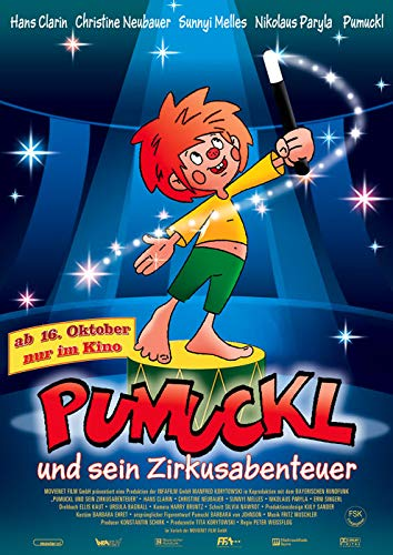 Pumuckl und Sein Zirkusabenteuer (2003) | original Filmplakat, Poster [Din A1, 59 x 84 cm]