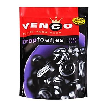 Venco droptoefjes (Regaliz) 8.47oz Regaliz piezas suave por Venco
