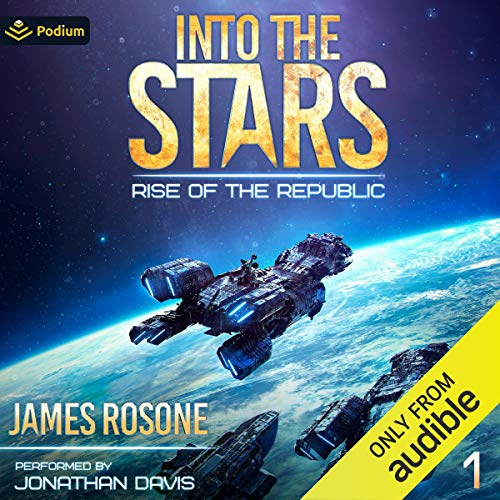Into the Stars Audiobook By James Rosone cover art
