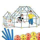 ZQSM Newest Upgrade Fort Building Kit, DIY Fun Fort Building, Creative Fort Building Set, Building Fort Toys for Kids (158)