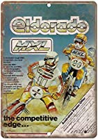 BMX Eldoro金属壁サインレトロプラークポスターヴィンテージ鉄シート塗装装飾アートワーク工芸品カフェビールバー