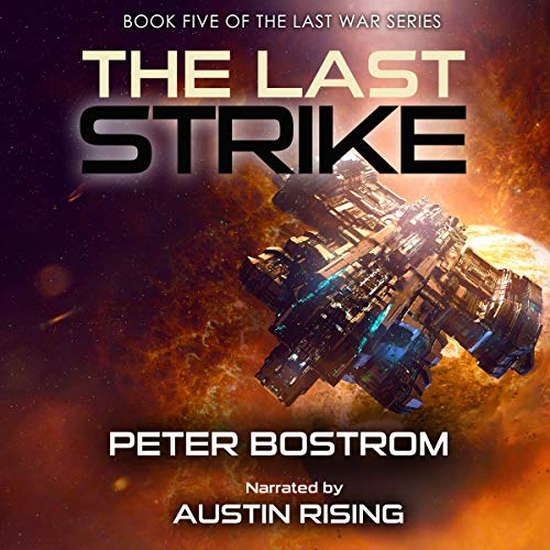 The Last Strike audiobook cover art