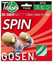ゴーセン(GOSEN) オージー・シープ スピン (テニス用) ナチュラル TS428NA