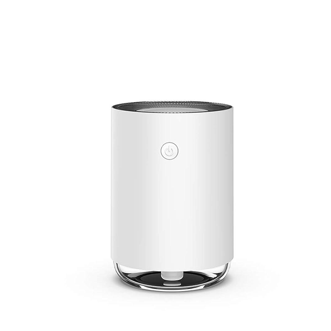 森空白テメリティAlice 加湿器 超音波式 卓上 アロマディフューザー 小型 空気浄化機 超静音 車用加湿器 USB式 部屋 オフィス 車載 除菌 乾燥/花粉症対策 白