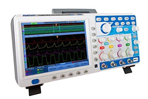 PeakTech 4 Kanal 200 MHz Touchscreen Digital Speicher Oszilloskop - Dso mit LAN, USB, und VGA, 1 Stück, P 1300