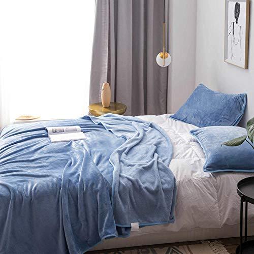 Couverture Polaire, Couverture en Flanelle épaisse Douce Et Confortable, Peut être Utilisée comme Draps De Lit, Couverture bébé, Housse De Canapé Facile à Entretenir -3_120 cm x 200 cm 1,7 kg