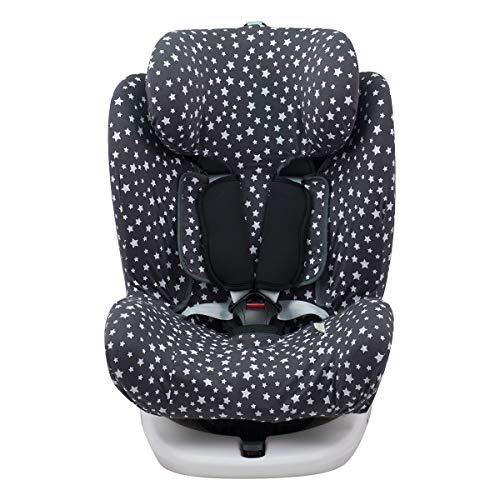 JANABEBE Funda para Star Ibaby, Baby Auto Fix Noe (WINTER SKY)