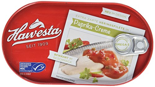 HAWESTA MSC Heringsfilet, Paprika, 200 g