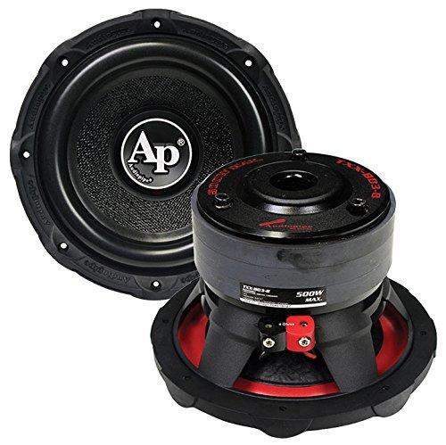 Audiopipe TXX-BD3-8 500 Watts Max 8' 4-Ohms Stereo Car Audio Subwoof