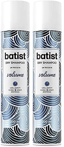shampoo dry - shampoo a secco volumizzante 200 ml (Confezione da 2)