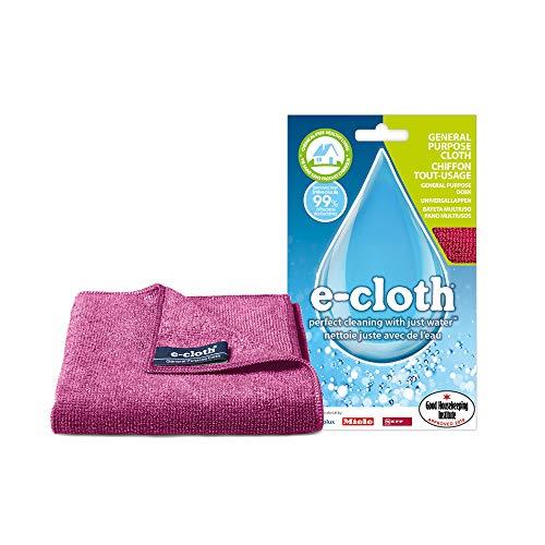 Polti EGP E-Cloth Panno Multiuso in Microfibra, Adatto per la Pulizia senza Sostanze Chimiche di Casa, Bicchieri e Interni di Automobile, Lavabile in Lavatrice a 90°, Colori Assortiti