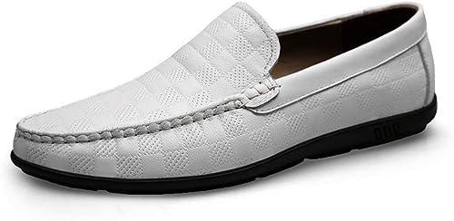 Calzado de Hombre Calzado de Cuero, Calzado Casual de Hombre, Calzado de conducción .zapatos de Moda