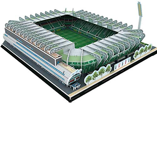 YWAWJ 3D Sports Stadium Puzzle Modell Puzzle for Kinder Easy Click-Technologie bedeutet Pieces Perfectly Österreich Allianz Modell Fan Souvenir Kinder DIY Spielzeug