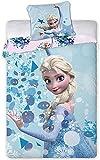 Disney Frozen Ropa de Cama Funda Nordica 140x200 + 63x63 cm
