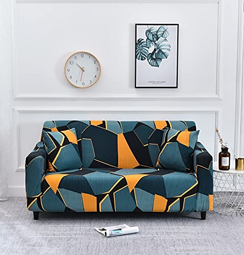 PPOS Elastic Slipcovers Sofa Stretch Sofa Covers for Living Room Sectional Couch Cover Corner Cover for Furniture Funda Sofa D4 1seat 90-140cm-1pc