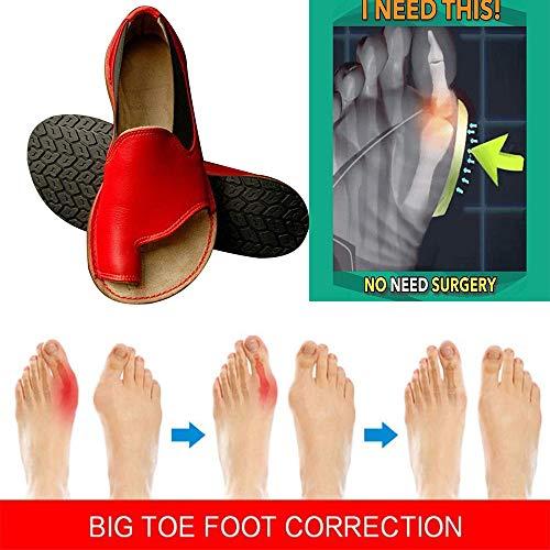 XSMG Womens Comfy Platform schoen muiltjes Flip Flops Clip teen Slip-On wig sandalen anti-slip dames Sandaal PU lederen zomer strand schoenen
