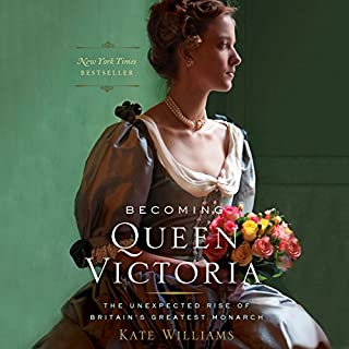 Becoming Queen Victoria audiobook cover art
