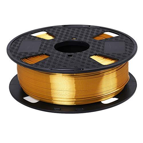 Marchio Amazon - Eono 3D Printer Filament- Silk Gold Shiny Metal -1,75 mm- 1KG 2.2LBS Spool