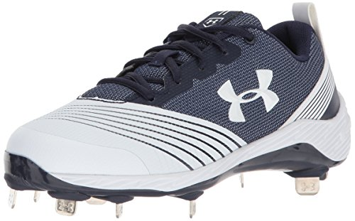 Under Armour Frauen Ua W Glyde St Low & Mid Tops Schnuersenkel Baseball Schuhe Weiss Groesse 12 US /43 EU