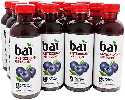 Bai Antioxidant Infusion Beverage Brasillia Blueberry 12 Bottle s product image