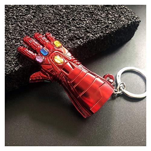 DINEGG Llavero Superhéroe Llavero Thanos Figura de acción...