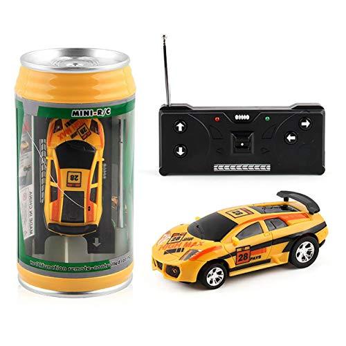 Regali per Bambini 20Km / h Coca-Cola Can Mini RC Autoradio Telecomando Micro Racing Car 4 Frequenze Giocattolo per Bambini Regali Modelli RC