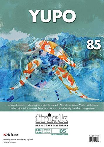 Frisk 14385410 YUPO Papier Pack A4, weiß