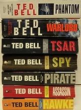 TED BELL Alexander Hawke series 1-7 Complete set: Hawke, Assassin, Pirate, Spy, Tsar, Warlord, Phantom