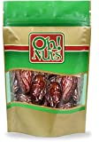 2 Pounds of the Plumpest, Moistest and Juiciest California Medjool Dates - Oh! Nuts