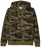 Amazon Brand - Goodthreads Men's Pullover Fleece Hoodie, Green Camo X-Small