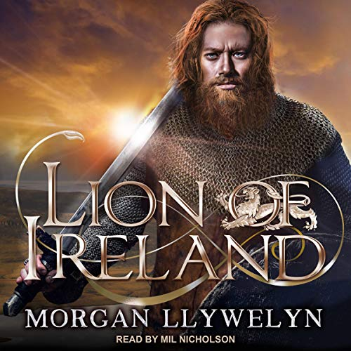 Lion of Ireland audiobook cover art