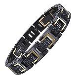 COOLMAN Bracelets en Acier Inoxydable 316L pour Homme, Réglable, avec Boîte-cadeau,...