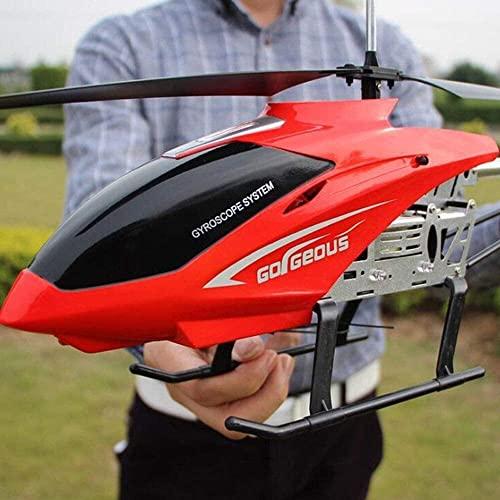 UimimiU Rc Helicóptero con 3,5 canales 2.4 GHz y Gyro (incorporado) Helicóptero de control remoto 80 cm Modo de alta velocidad grande Rc Juguetes de avión for y regalos de cumpleaños for adultos mejor