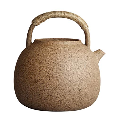Best Review Of LXYFMS Japanese-style Pottery Boiled Teapot Heat-resistant Body Kettle, Fire, Electri...