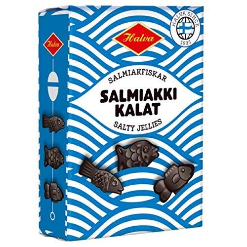 Halva | Salmiakki Kalat Box Lakritz Fische