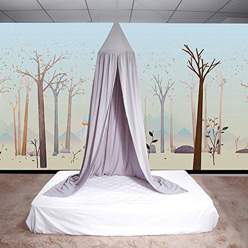 Yosoo - Dosel para cuna de bebé, habitación infantil gris gris