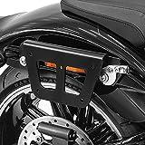 Yamaha Juego Par Alforjas Bolsas laterales Motocicleta Concho Highway para moto Harley Suzuki Sportster 883 1200 XL Custom Bobber Chopper Iron Nightster Roadster V-Rod 48 1200X Honda 72 Super Low Wide Glide Dyna Triumph BMW Ducati Guzzi Kawasaki