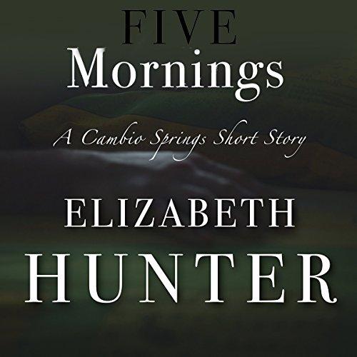 Five Mornings audiobook cover art