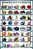 EuroGraphics Minerals Poster, 36 x 24 inch